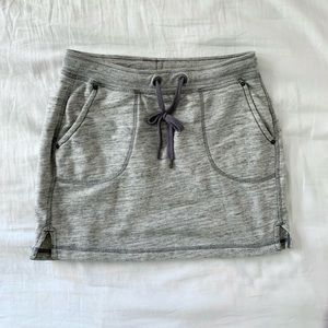 L.O.G.G. Grey Heather French Terry skirt casual